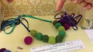 getlinkyoutube.com-How To Create A Color Pop Felt Necklace