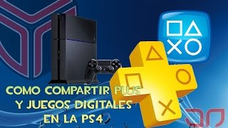 getlinkyoutube.com-Como compartir playstation plus y juegos digitales en PS4