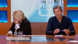 Fou rire général au Magazine de la Santé avec Thierry Lhermitte // France 5