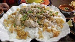 getlinkyoutube.com-فتة الدجاج بالخل - مطبخ منال العالم