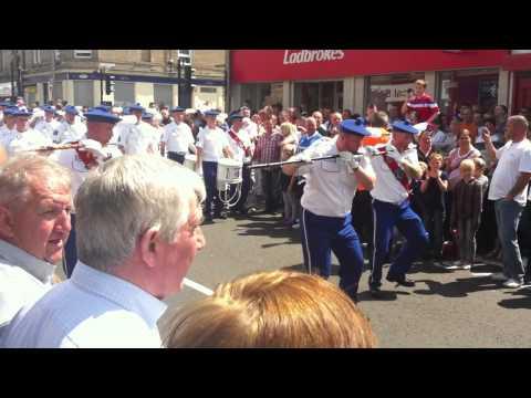 County Fb at Bellshill Boyne Celebrations 2011