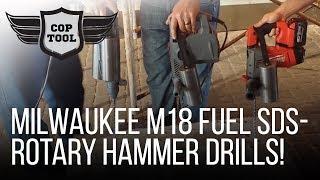 "getlinkyoutube.com-Milwaukee M18 FUEL SDS-Plus Rotary Hammer Drills 1"" 2712-22 & 1-1/8"" 2715-55"