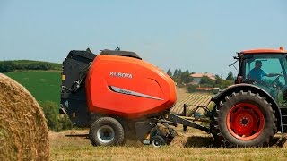 Introducing Kubota Balers and Wrappers