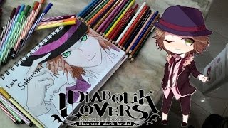 getlinkyoutube.com-Speed Drawing⚫Laito Sakamaki⚫Diabolik Lovers