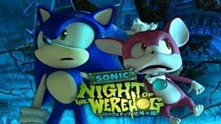 getlinkyoutube.com-Sonic Unleashed - Night of the Werehog - Full Movie - (HD)