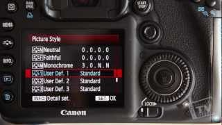 getlinkyoutube.com-How to Setup your DSLR to Film (Picture Style)