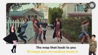 Maps - Maroon 5 - MAX and Alyson Stoner (Official Video)(Lyrics) |SUBTITULADO AL ESPAÑOL|