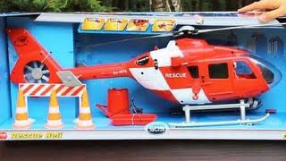 getlinkyoutube.com-Rescue Heli / Helikopter Ratunkowy - Dickie Toys - 3563979 - Recenzja