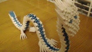 getlinkyoutube.com-3D Origami Dragon Tutorial