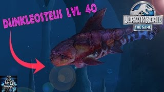 getlinkyoutube.com-DUNKLEOSTEUS LVL 40! - Jurassic World The Game - *Aquatic Update*