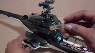 Fusuno Airwolf 450 Scale Build Guide Pt 2