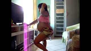 getlinkyoutube.com-Gravida Grande - Big Pregnant Girl Gets Down