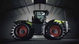 Сила интеллекта в тракторе XERION компании CLAAS