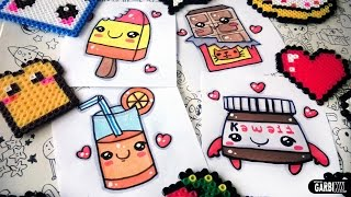 getlinkyoutube.com-How to draw nice Food - easy Drawings and kawaii - Nutella, Chocolate, popsicle, orange juice