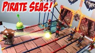getlinkyoutube.com-Plants vs. Zombies K'nex Pirate Seas Plank Walk Building Set Review