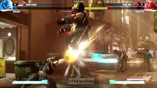 getlinkyoutube.com-Charlie Nash Street Fighter 5 V Best moves combos Best Players tournament