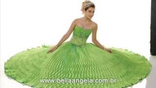 getlinkyoutube.com-Vestidos para Debutantes 15 anos - Bella Angela