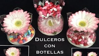getlinkyoutube.com-DULCEROS  HECHOS CON BOTELLAS PET PARA FIESTAS .