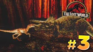 getlinkyoutube.com-The Mighty Raptor! - The Lost World PS1 | FaceCam Sunday
