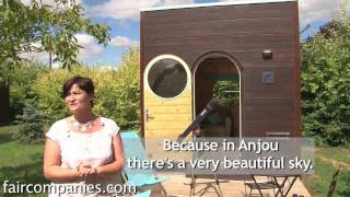 getlinkyoutube.com-Tiny, portable, prefab cube shelters in medieval French town