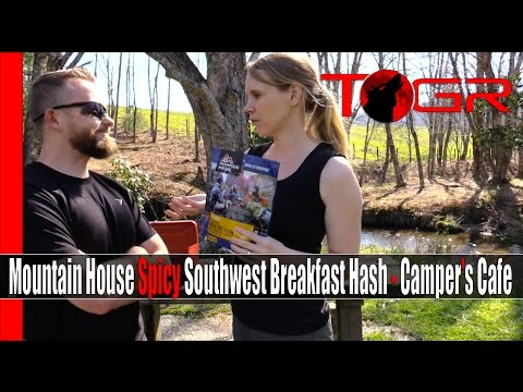 Mountain House Spicy Southwest Breakfast Hash - Camper's Cafe