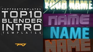 getlinkyoutube.com-(BEST) Top 10 Blender Intro Templates 2015 + FREE DOWNLOADS