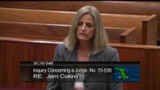 getlinkyoutube.com-Judge Collins Reprimanded by the Florida Supreme Court