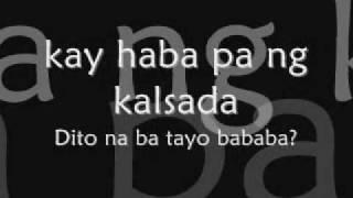 Jimmy Bondoc Hanggang Dito nalang - Lyrics