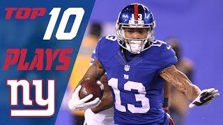 getlinkyoutube.com-Giants Top 10 Plays of the 2016 Season   NFL Highlights