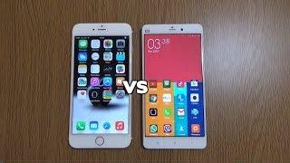 getlinkyoutube.com-Xiaomi Mi Note VS IPhone 6 Plus - Review!