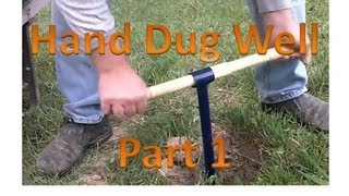 getlinkyoutube.com-Hand Dug Well Part 1