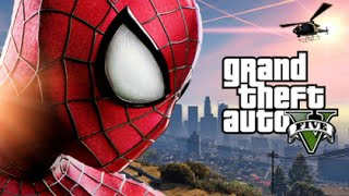 getlinkyoutube.com-GTA 5 Mods - SPIDERMAN MOD! (GTA 5 PC Mods Gameplay)(Funny Moments)