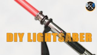 getlinkyoutube.com-How To:: Star Wars DIY Custom Lightsaber and Epic Battle
