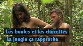 getlinkyoutube.com-Les boules et les chocottes: la jungle ça rapproche !