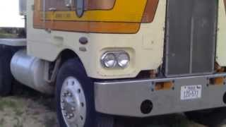 getlinkyoutube.com-1977 Peterbilt 352 Cabover For Sale