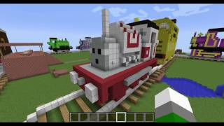 getlinkyoutube.com-Thomas and friends minecraft 2