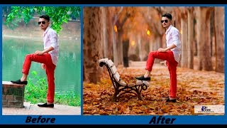 getlinkyoutube.com-Photoshop CC - Background Change and Photo Retouch Tutorial - August 2016