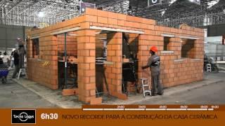 Construção da Casa de Cerâmica - Feicon Batimat 2012
