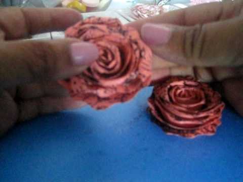 Videos Related To 'paper Roses Tutorial'