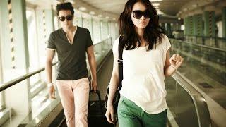 getlinkyoutube.com-Photos of So Ji Sub and Shin Min Ah at the airport
