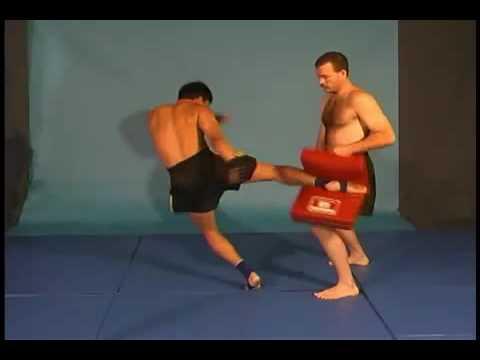 Muay Thai MMA Tecnica chutes