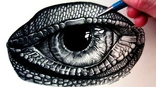 getlinkyoutube.com-How to Draw a Lizard Eye