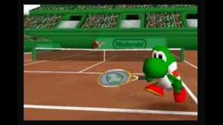 getlinkyoutube.com-Mario Tennis N64 Flower Cup: Yoshi