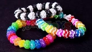 getlinkyoutube.com-Gumdrop Bracelet - Advanced Design on the Rainbow Loom