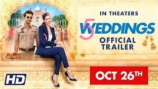 '5 Weddings' | 26 OCT |  Nargis Fakhri, Rajkummar Rao, Bo Derek, Candy Clark