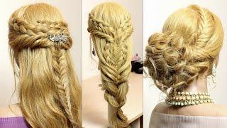 getlinkyoutube.com-Easy hairstyles. Hair tutorials. Braids
