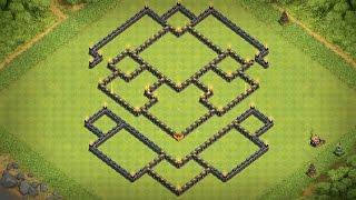 getlinkyoutube.com-(TH10) BOMB TOWER! New dark farming base | Dark elixir protect | Cv10 hybrid base | Clash Of Clans