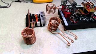 Chinese 1000 W ZVS Induction Heater VS. Home Made