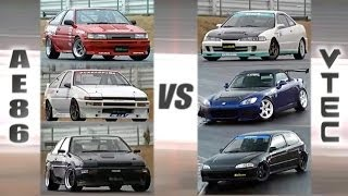 getlinkyoutube.com-[ENG CC] VTEC Club vs. AE86 Hachiroku Club HV55