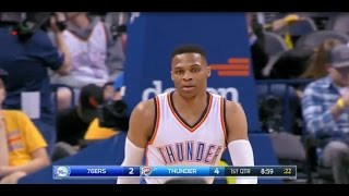 Westbrook makes History in NBA with a triple- double